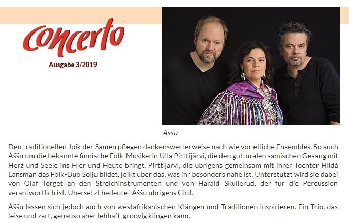 Concerto-Magazin (Austria), 3/2019