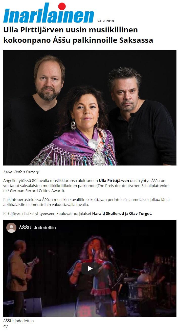Inarilainen (Finland), 24.9.2019
