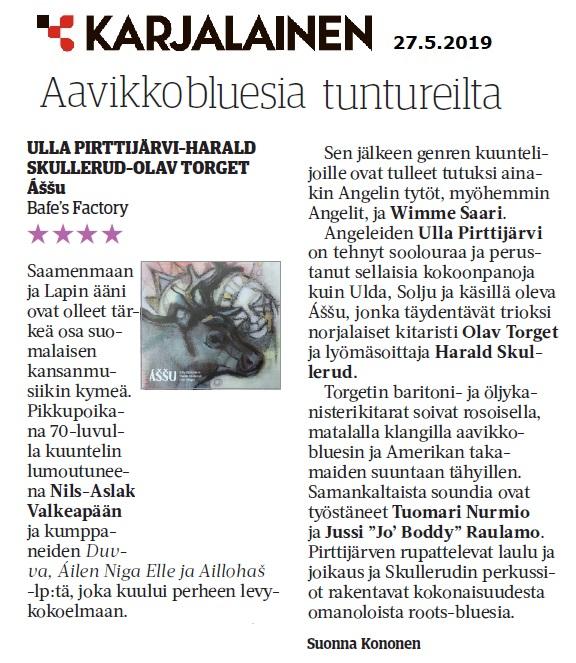 Karjalainen (Finland), 27.5.2019