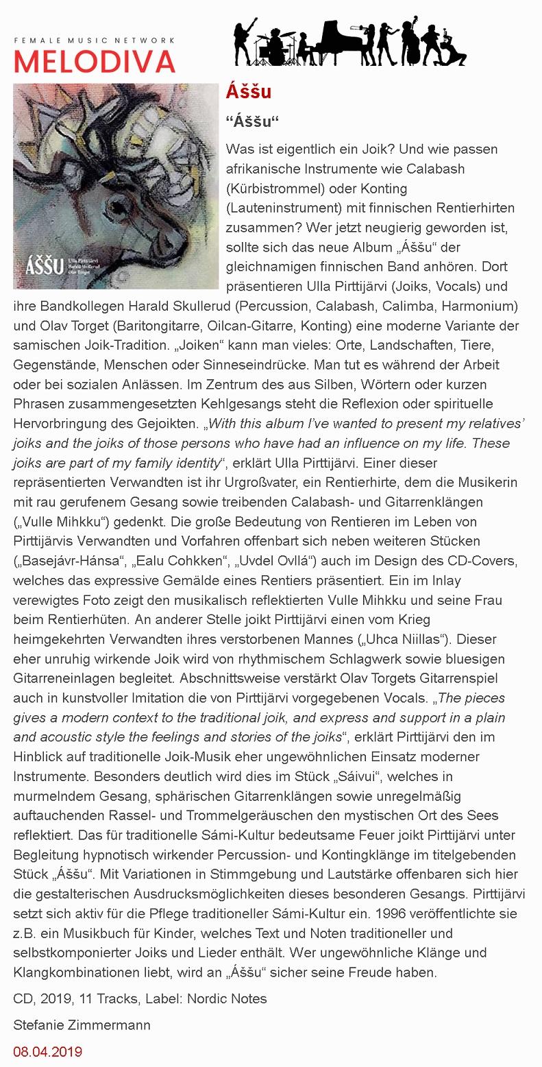 Melodiva (Germany), 8.4.2019