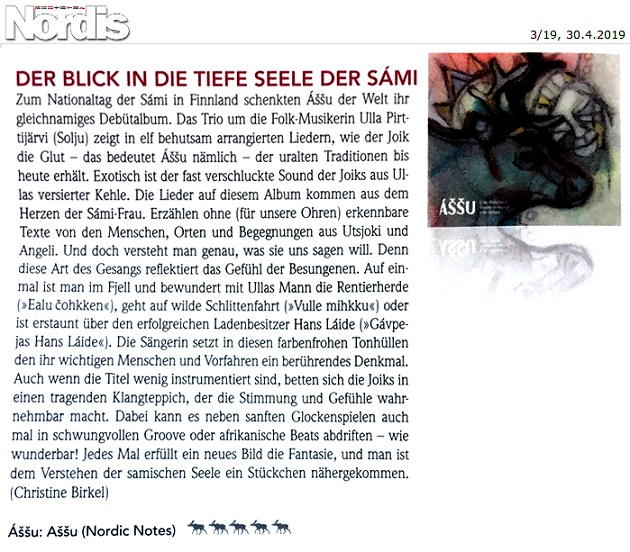 Nordis-Magazin (Germany), 3/19