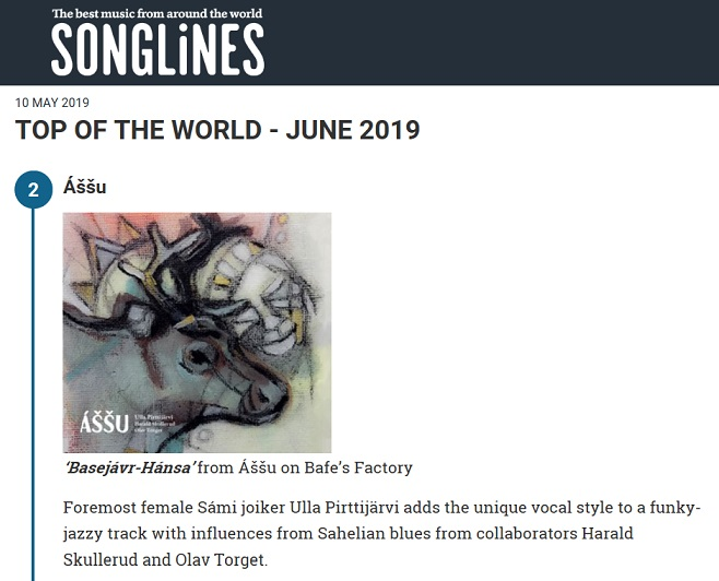 Songlines, Top of the World - June 2019 (UK), 10.5.2019
