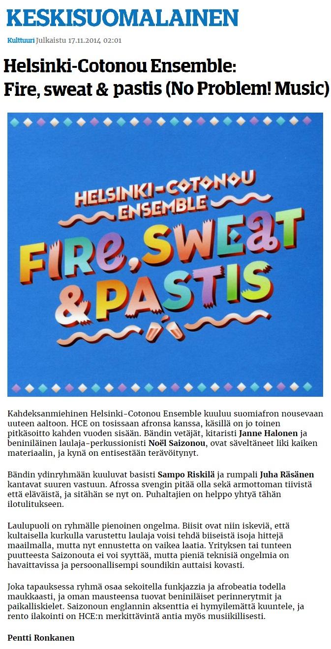 Keskisuomalainen (Finland), 17.11.2014