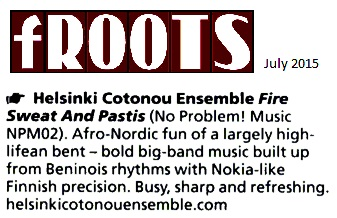 fRoots (UK), July 2015