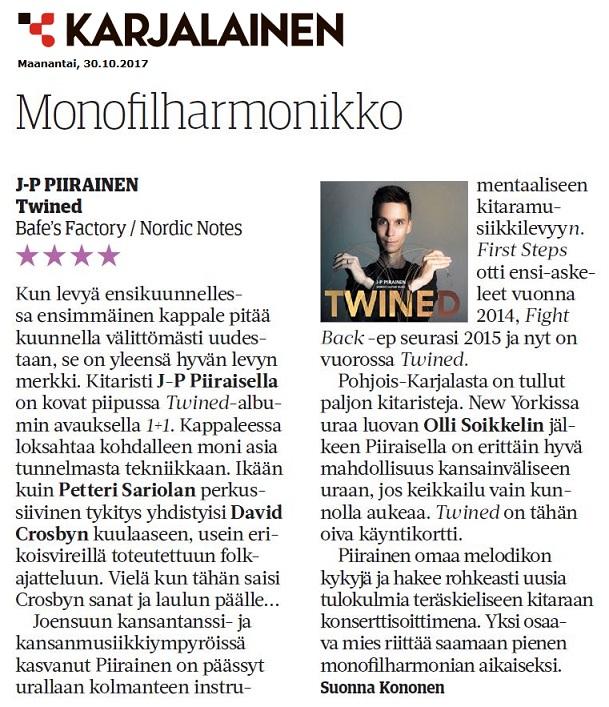 Karjalainen (Finland), 30.10.2017