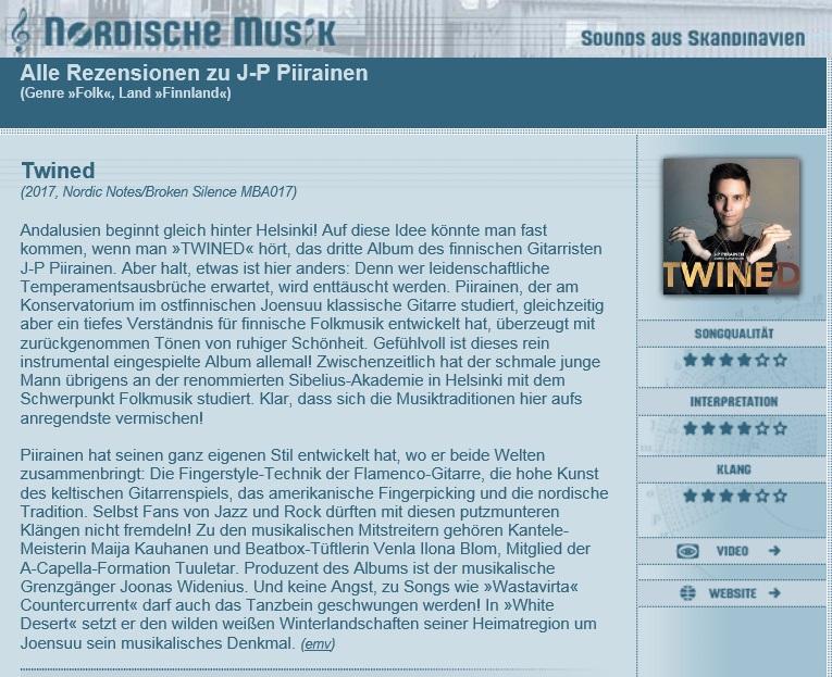 Nordische Musik (Germany), 11/2017
