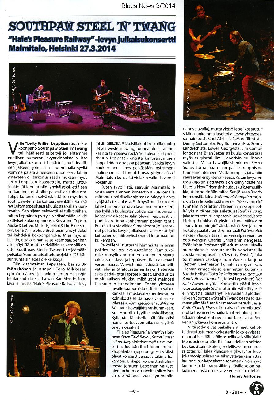 Blues News (FI) 3/2014