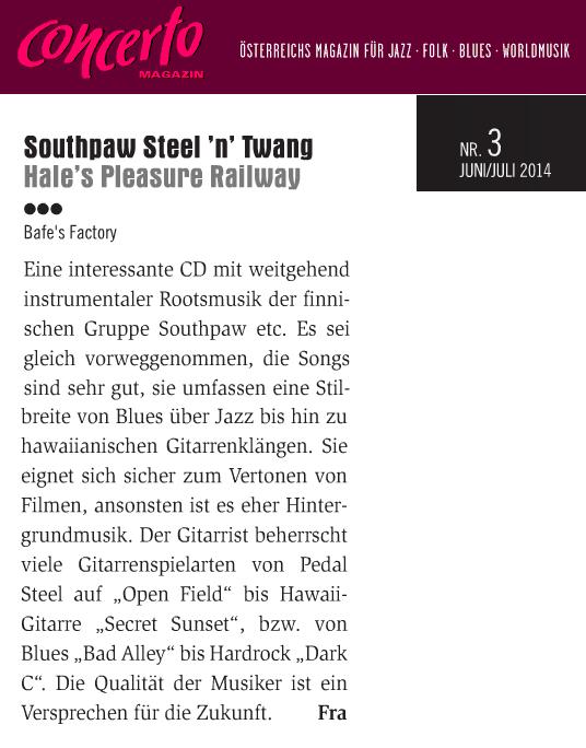 Concerto (Itävalta) ) 3/2014