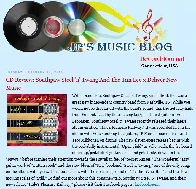JP´s music blog (USA), February 2015