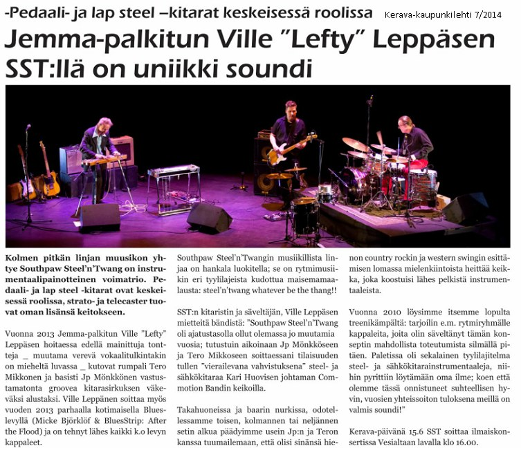 Kerava-lehti 7/2014
