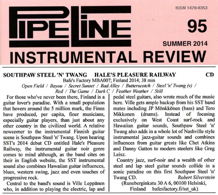 Pipeline (UK) #95 Summer 2014