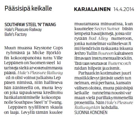 Karjalainen 14.4.2014