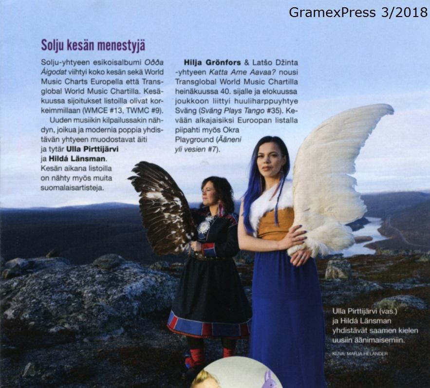 GramexPress (Finland), 3/2018