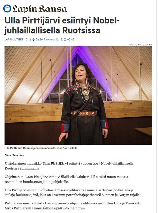 Lapin Kansa (Finland), 10.12.2017