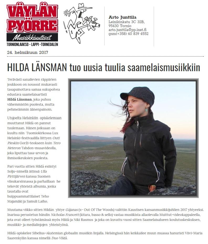 Väylän Pyörre (Finland), 24.2.2017
