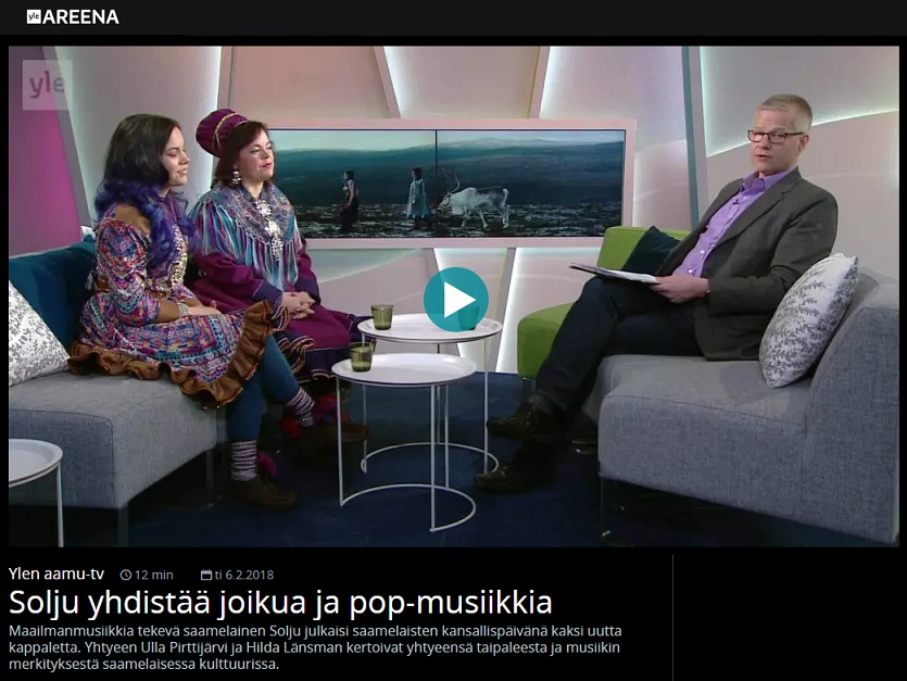 Ylen aamu-tv (Finland), 6.2.2018