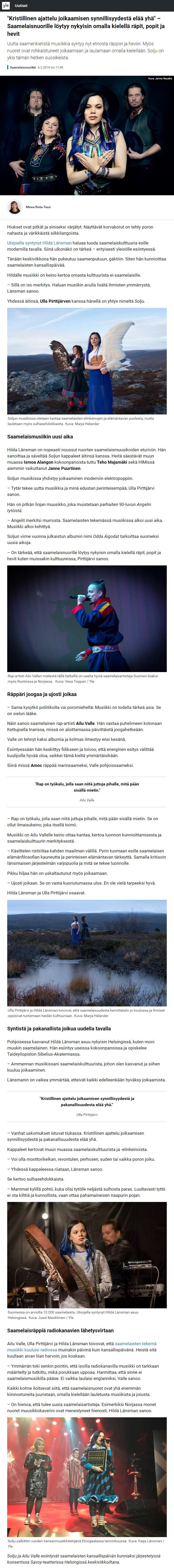 Riffi (Finland,) 22.2.2019