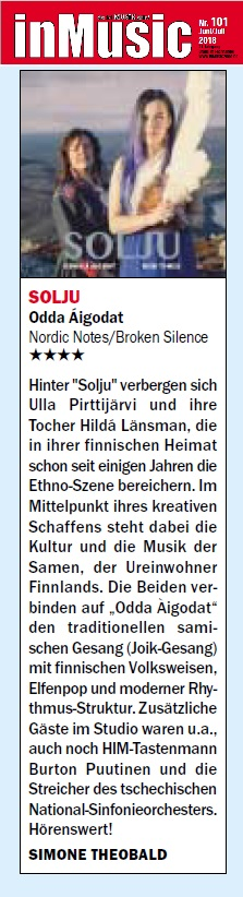 inMusic (Germany), Issue 90 - Issue 101 - Juni 2018