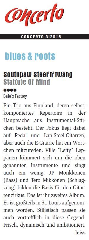 Concerto (Itävalta) 3/2016
