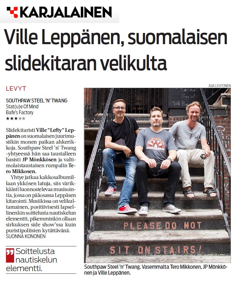 Karjalainen, 8.2.2016