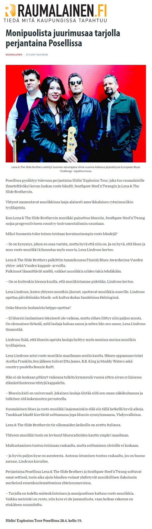 Raumalainen 27.4.2017