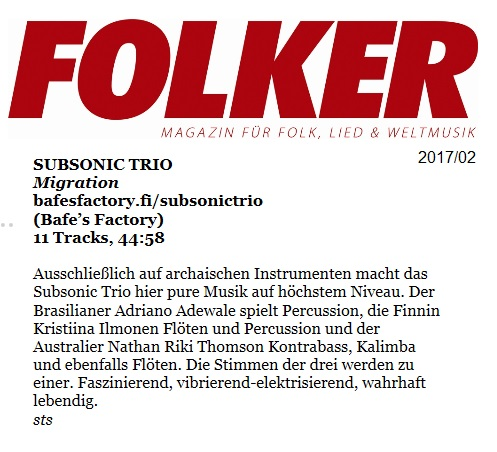 Folker (Germany), 2/2017