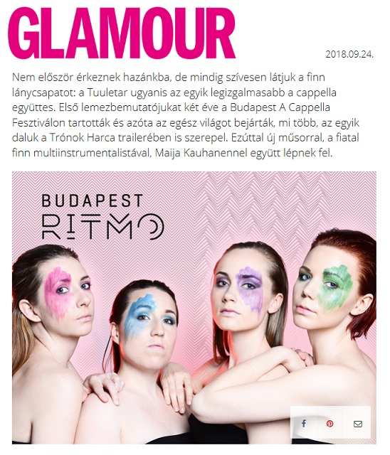 Glamour (Hungary), 24.9.2018