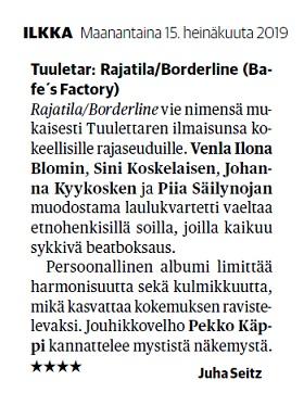 Ilkka (Finland), 15.7.2019