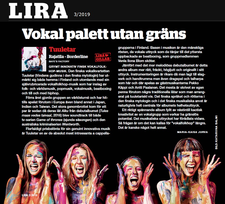 Lira (Sweden), 13.9.2019