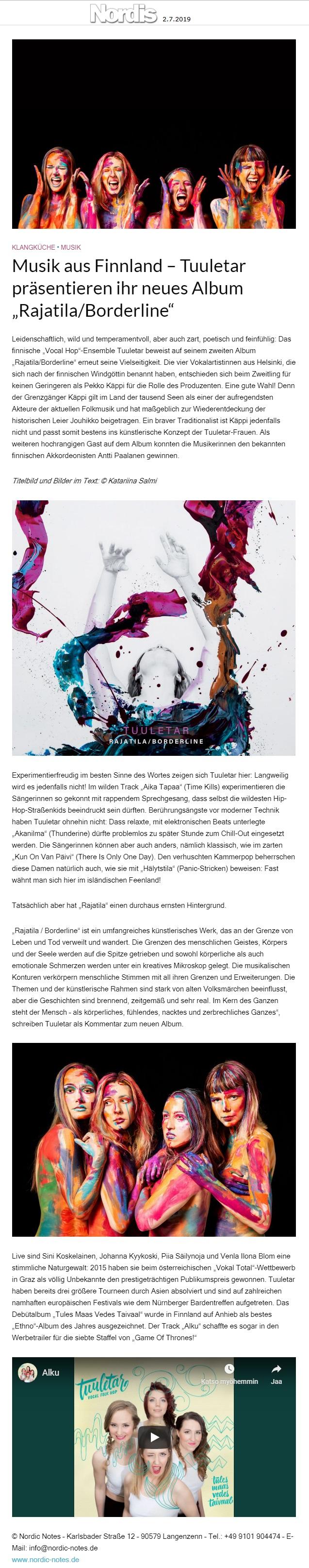 Nordis (Germany), 2.7.2019