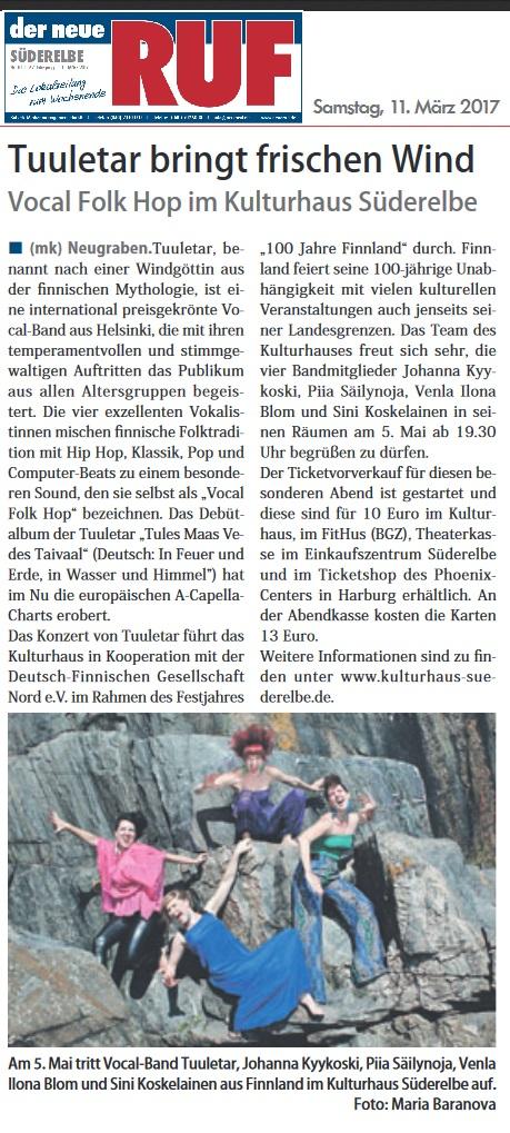 Der neue RUF (Germany), 11.3.2017