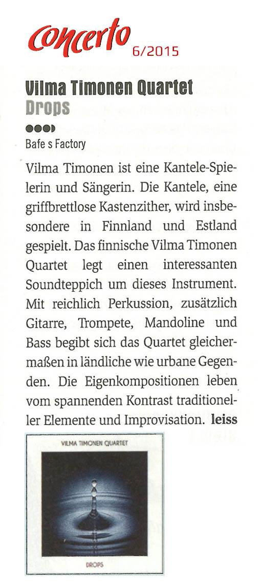 Concerto (Itävalta) No. 6/2015