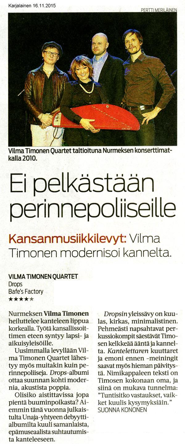 Karjalainen, 16.11.2015
